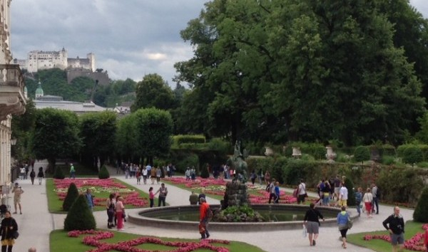 This location was also immortalized in the film.