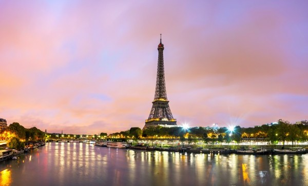 The Eiffel Tower is Paris' icon.