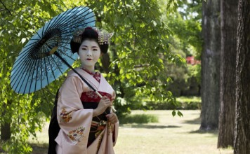 Geisha girl in Japan. Flickr/Japanexperterna.se