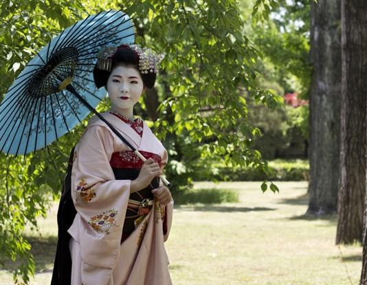 Geisha girl in Japan. Flickr/Japanexperterna.se