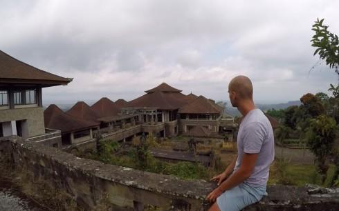 Taman Rekreasi Bedugul is an abandoned hotel near Bali