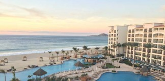 The view from my room at the Hyatt Ziva Los Cabos.