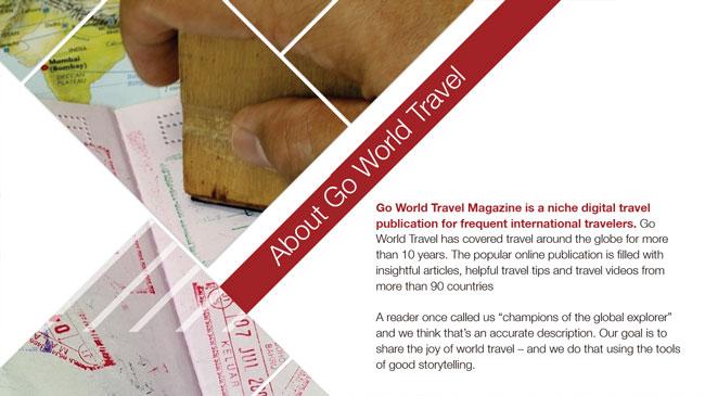 Travel Marketing, Tourism Marketing, Go World Travel Magazine