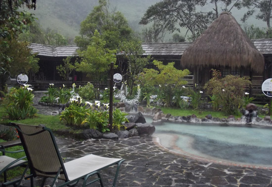 The Termas de Papillacta spa and hot springs resort is a delightful, relaxing spot. Photo by Irene Middleman Thomas