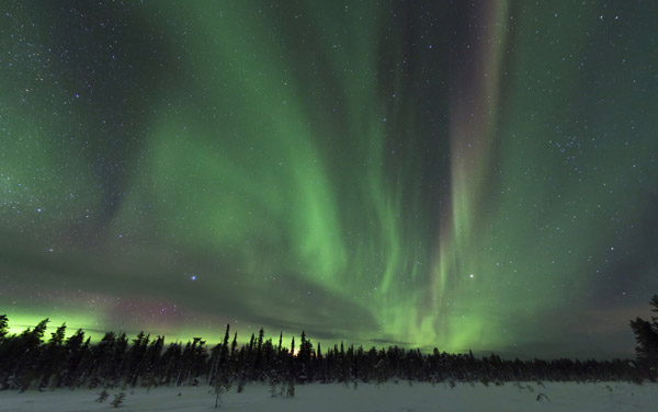 Where to view the Northern Lights in Finland