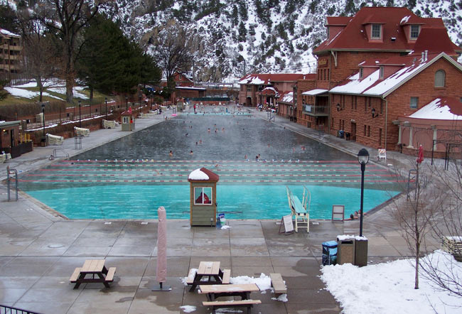 Among the best Colorado hot springs, Glenwood Hot Springs has drawn visitors to the region since the 1880s.