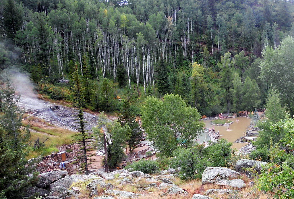 Best hot springs in Colorado