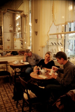 Coffeehouse culture in Vienna, Austria