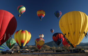 Up in the Air: Hot Air Ballooning in New Mexico