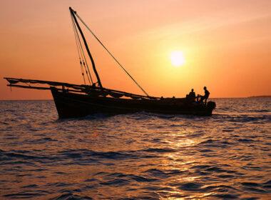 Sunset in Zanzibar. Flickr/mitchpa1984