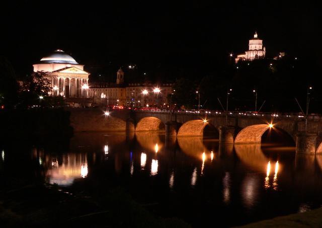 Torino at night.