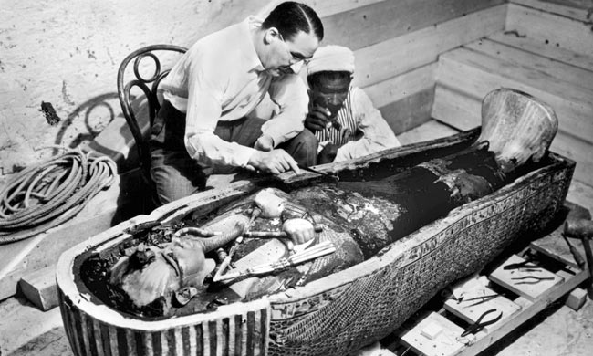 The discovery of King Tut's tomb in November 1922 is considered one of the greatest archeological treasures in history.
