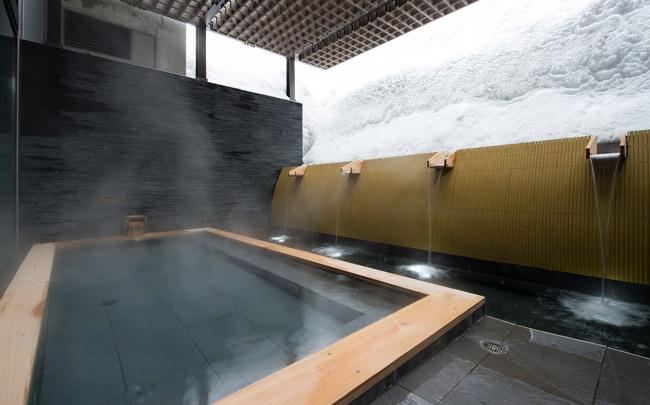 Thermal bath in Ki Niseko, Hokkaido