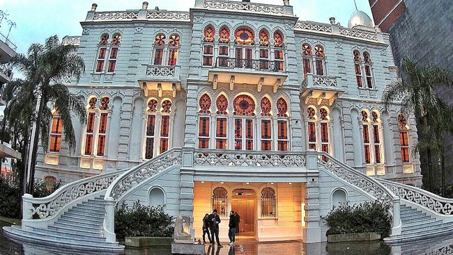 The newly renovated Sursock Museum in Beirut that contains modern and contemporary art,