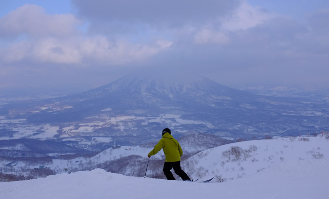 Skiing in Japan. Photo by Andrew Day