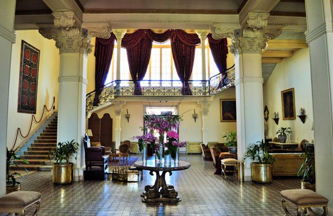 The Winter Palace lobby