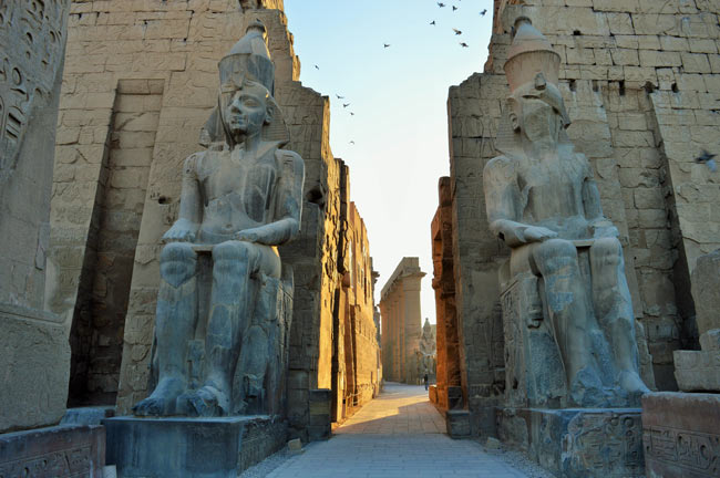 Luxor Temple. Photo by Rich Grant