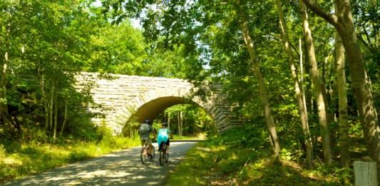 Bike Touring in Coastal Maine