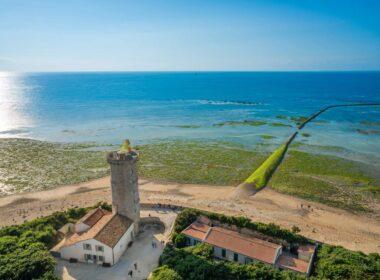 Coast of Ile De Re in France