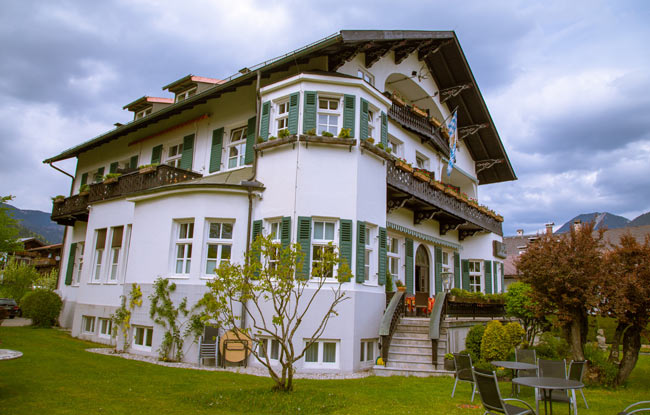 Hotel Aschenbrenner is a good base for exploring Garmisch-Partenkirchen. Photo by Janna Graber