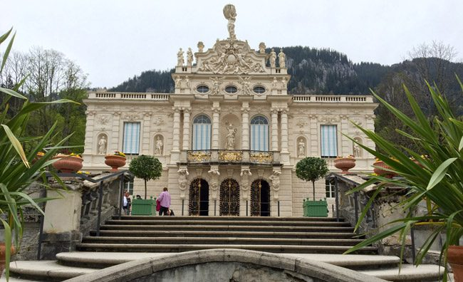 Linderhof Palace. Photo by Benjamin Rader
