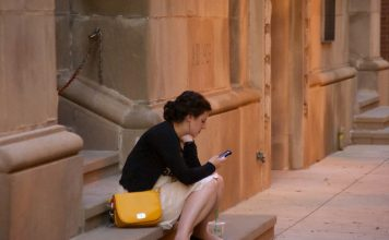 Mobile phone use on holiday