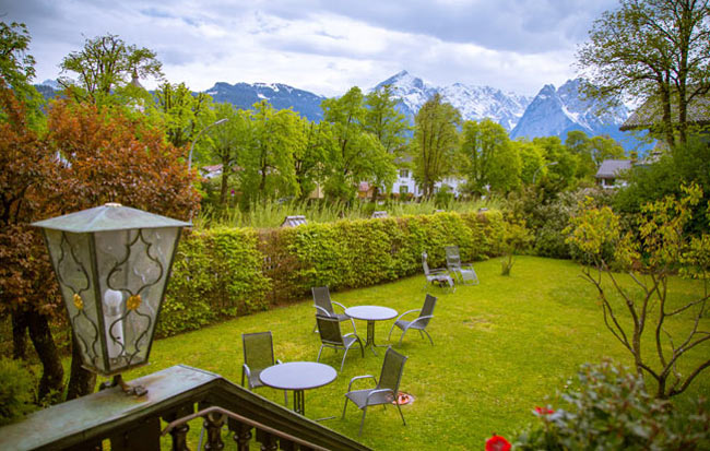 The view from my window at Hotel Aschenbrenner. Photo by Benjamin Rader