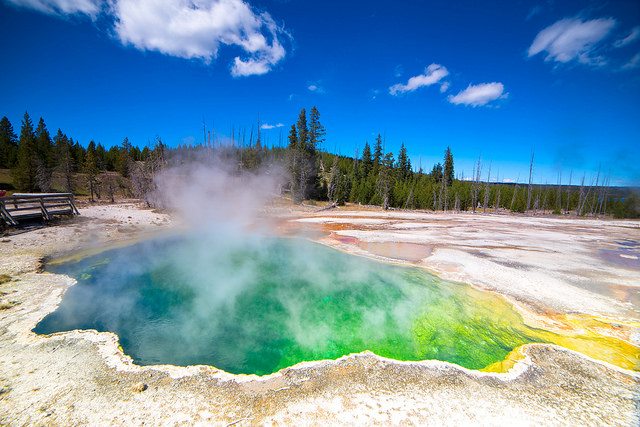 The Yellowstone Caldera. Photo by Flickr/Maarten Otto