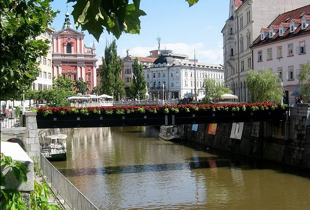 A beautiful summer's day in Ljubljana, Slovenia. Flickr/pululante