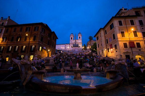 Rome: Piazza di Spagna Flickr/ Alessandro Silipo