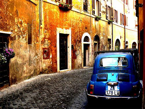 Rome: Trastevere. Flickr/ mozzercork