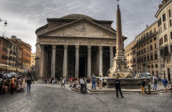 Rome: The Pantheon Flickr/ Neil Howard
