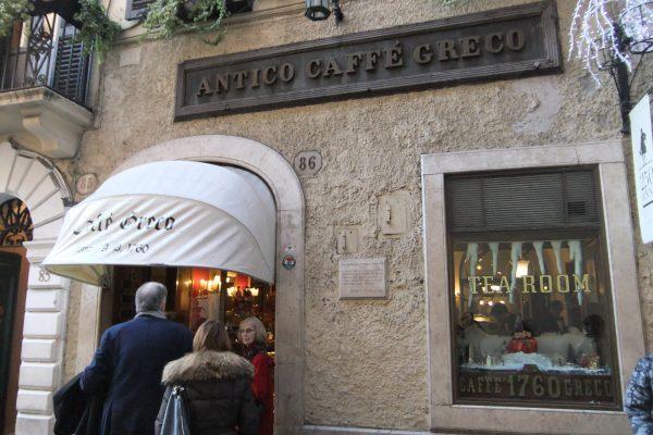 Caffe Greco, Italy Via Condotti, Rome by Dan Morey