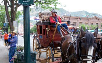 Stagecoach taxi on Main Avenue. Photo by Jack Bohannan.