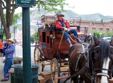 Stagecoach taxi on Main Avenue. Photo by Jack Bohannan.