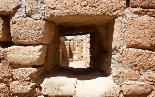The Mesa Verde ruins are a window to the past. Photo by Jack Bohannan.