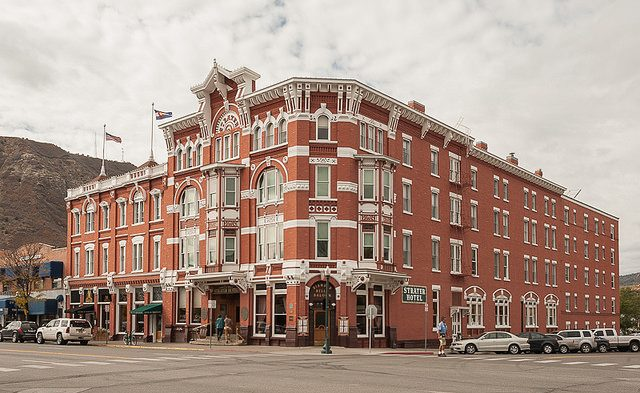 The Strater Hotel, Durango, CO. Flickr/Jacqueline Poggi