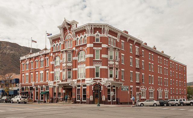 The Strater Hotel, Durango, CO. Flickr/Jacqueline Poggi
