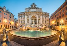The Trevi Fountain is arguably the world's most beautiful. Photo courtesy of FireCask Rome