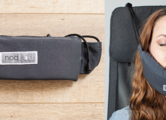 NodPod travel pillow review - travel tips