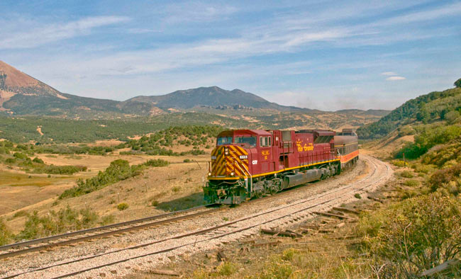 The Rio Grande Scenic Railroad offers an enjoyable way to see Colorado's back country. Photo by Rio Grande Scenic Railroad