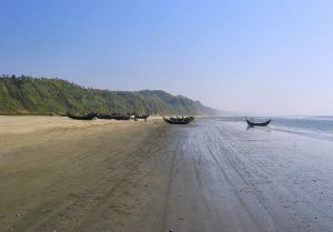 Beaches of Bakkhali: West Bengal, India