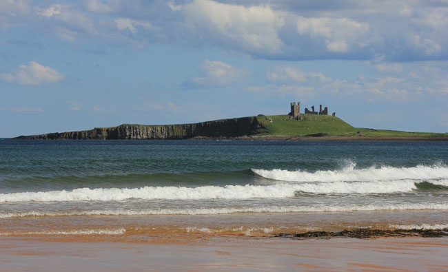 The six-mile journey to Dunstanburgh