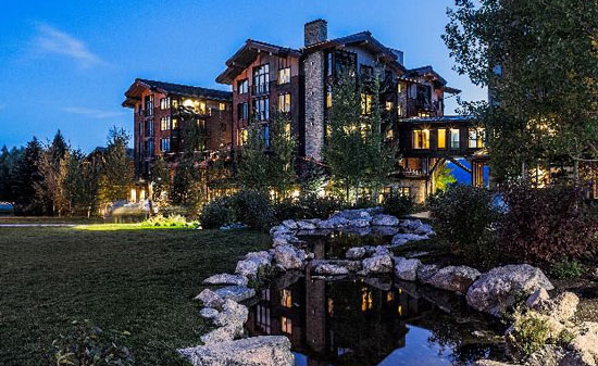 Summer at Hotel Terra Jackson Hole Summer. Photo courtesy Hotel Terra Jackson Hole