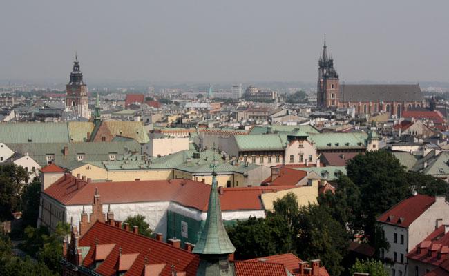 Krakow Cathedral's Sigismund Tower
