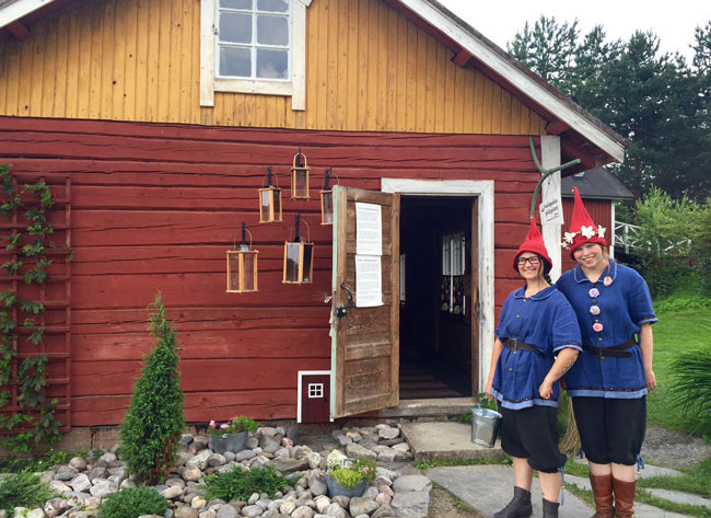 Kenkävero is home to Santa's Summer Hideout. Photo by Janna Graber