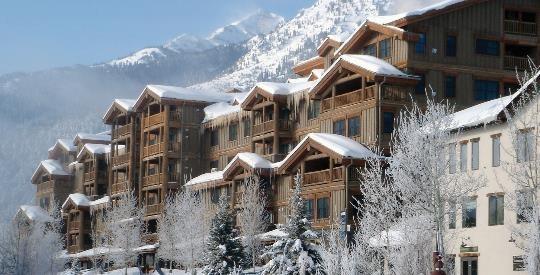 Winter at Teton Mountain Lodge & Spa Winter. Photo courtesy Teton Mountain Lodge & Spa