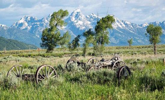 Teton Mountain Range Photo by Jackson Hole Mountain Resort