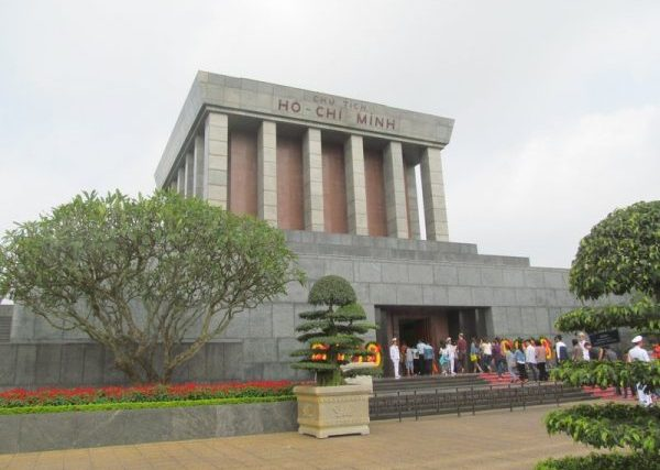 The Ho Chi Minh Mausoleum. Photo by Carol L. Bowman