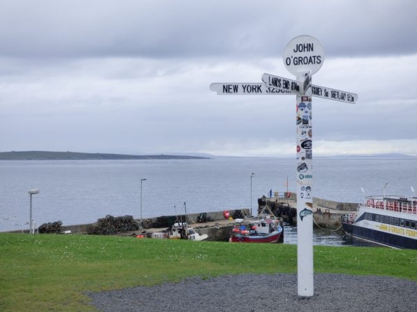 John o Groats. Photo by Andrea Wotherspoon